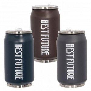 Бутылка, 300 мл, L6,5 W6,5 H13 см, 3в.