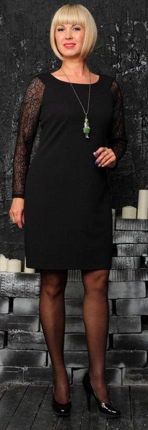 Платье из вискозного трикотажного полотна