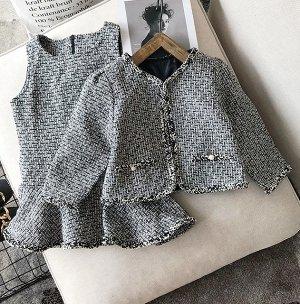 Костюм: платье + пиджак