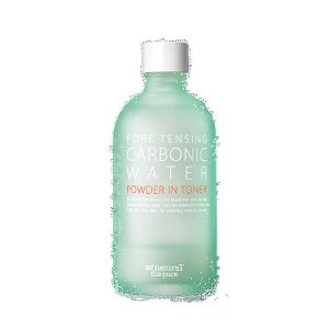 So Natural Pore Tensing Carbonic Water Powder In Toner Тоник для жирной кожи, 135 мл