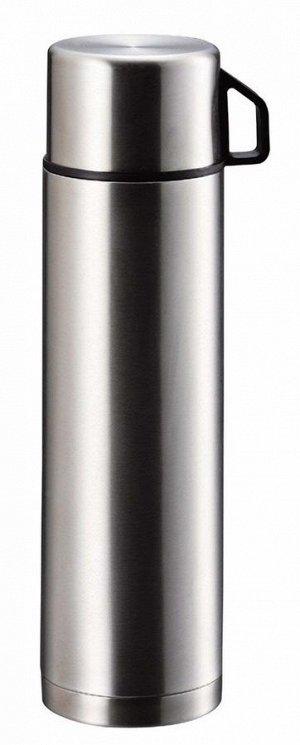 Термос с металлической колбой 1 л Pearl Metall H-6828
