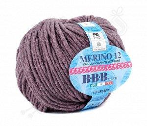 MERINO 12 (0010) темно-лиловый