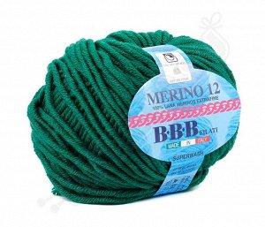 MERINO 12 (8737) насыщенный зеленый
