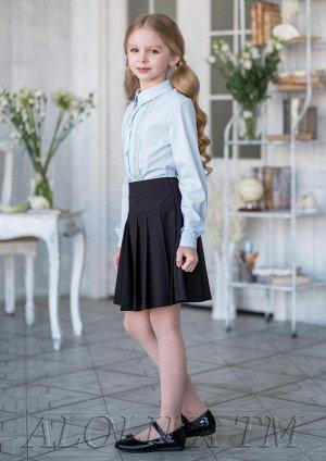 Школьная юбка Сентябринка, цвет черный