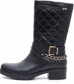 Ботинки Кожа, мех в стопе