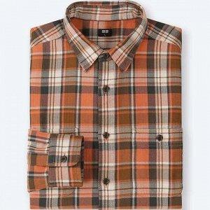 Замечательная рубашка из умягченногохлопка Япония UNIQLO