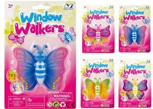 12002B Игрушка Лизун-бабочка,цвет в ассортименте,блистер