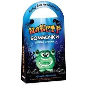 """С0715 Бомбочки для ванны своими руками """"Монстр Форнеус"""""""