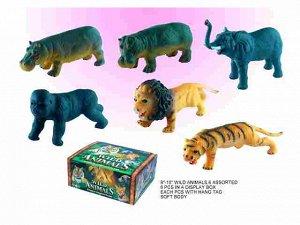 D2501/6/42186 Африканское животное 6 шт в кор.