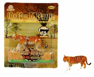 B18 Тигр-пазл 24 дет. под блистером