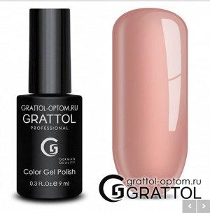 Grattol Color Gel Polish №44 Light Pink
