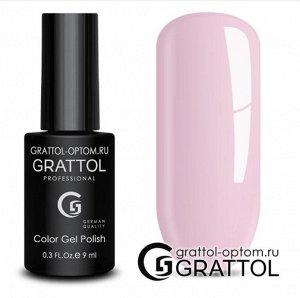 Grattol Color Gel Polish №108 Tender Rose Пастель