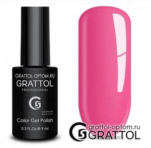 Grattol Color Gel Polish №128 Hot Pink