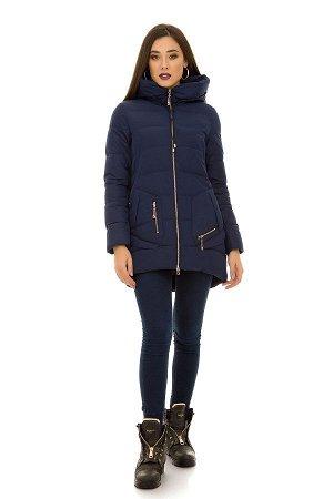 Зимняя куртка р. 48-50-52, цвет синий.