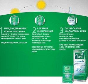 Капли Opti-free PRO 10 мл НОВИНКА!!!