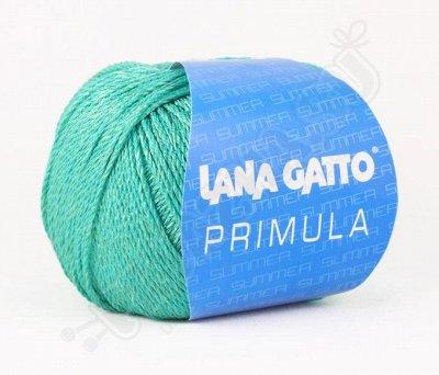 Любимая Итальянская пряжа!  — Хлопок + вискоза (PRIMULA) — Пряжа