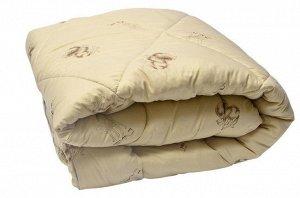 Одеяло верблюд Зимнее 300 г\м: микроволокно, тик тематический