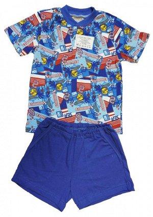 """Комплект """"Антошка"""" (рубашка, шорты)"""