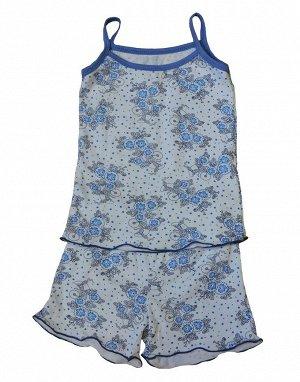 "Пижама для девочки ""Лина 2"" (кулир)"