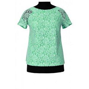 Блуза-Б 6-03 зеленый