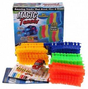 Magic Tracks - светящаяся гоночная трасса 220 деталей