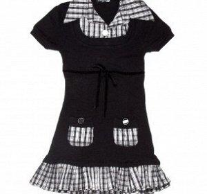 Платье для девочки вязка