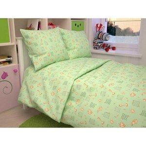 Детский комплект в кроватку Жирафики, цвет зеленый 366-2