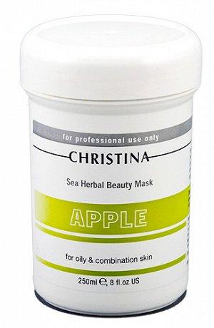 Распил Sea Herbal Beauty Mask Green Apple\Яблочная маска красоты для жирной и комбинир.кожи.обеспечит увлажнение дегидрированной коже. Не содержащая жиров формула объединила в себе успокаивающие расти