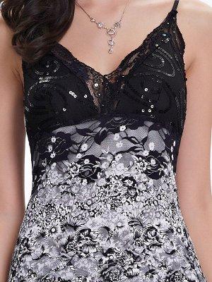 Кружевное сексуальное платье