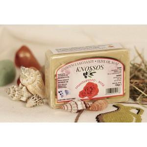 Натуральное оливковое мыло РОЗА Knossos, 100г
