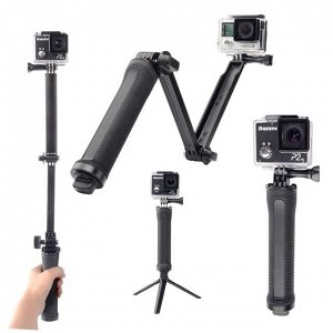 Монопод для экшн камер Трансформер 3-Way, 3 в 1