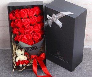 Подарочный набор мыла в виде роз