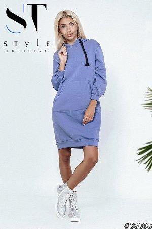 Платье-свитшот 38098