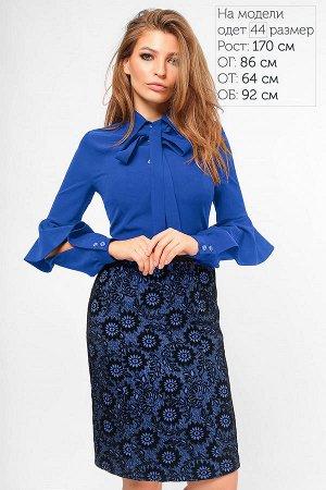 Продам синее платье
