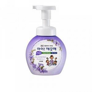 """LION Пенное мыло для рук """"Ai - Kekute"""" Аромат фиалки, с антибактериальным эффектом"""