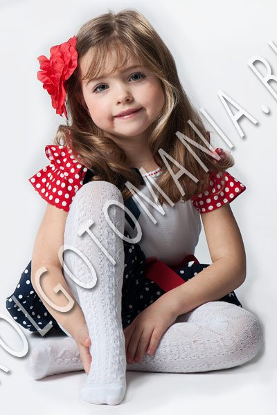 Колготомания - 41 (колготки, носки, нижнее белье) — Детские хлопковые колготки — Белье
