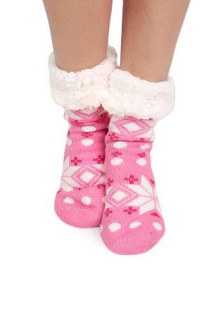 Тапочки-носочки домашние.