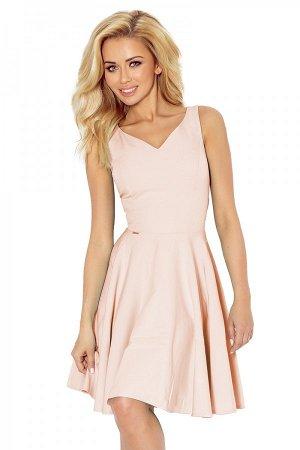 Платье NUMOCO 114-8  Платье-клёш с декольте в форме сердца. Состав: полиэстер 95%, эластан 5%
