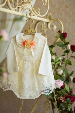 Платье кружевное Боди 481-ПБ
