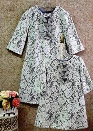 Платье на подкладе Кружево 633-ПКСМ