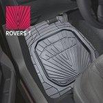 "Коврики а/м CARFORT ""Rovers 1"" резина, к-т 2шт. Grey передний"