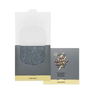 ETUDE HOUSE Hair Secret Dry Shampoo Sheets Сухой шампунь-салфетка 30шт