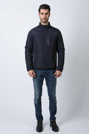 Демисезонная мужская куртка Hermzi, цвет Deep Navy ТЕМНО-СИНИЙ