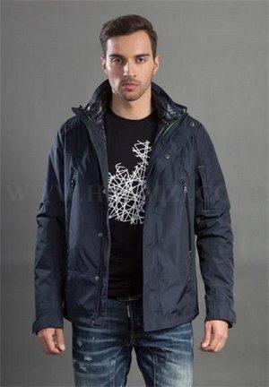 Демисезонная мужская утепленная куртка Hermzi, цвет Deep Navy Темно-синий