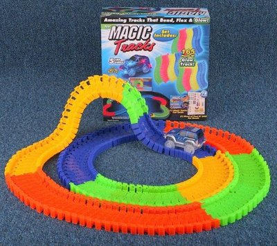 Часы,игрушки,косметички,канцелярия... Быстрая раздача!!!     — Magic Tracks - светящаяся гоночная трасса 399руб! — Детям и подросткам