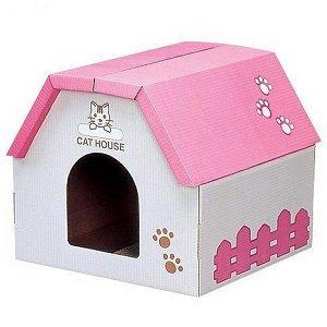 ХИТ!!! Домик для кошек картонный с когтеточкой
