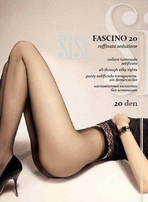 Sisi / Колготки FASCINO 20 (шелковистые колготки с эффектом обнаженности)