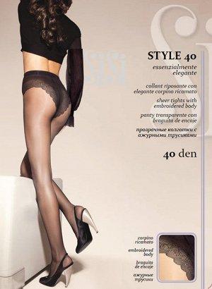 Sisi / Колготки STYLE 40 (ажурные трусики-бикини)