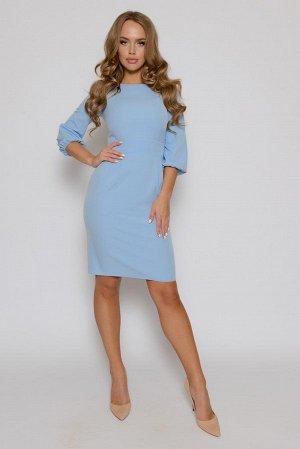 ПЛАТЬЕ Длина платья 0228 измеряется по спинке от основания шеи до линии низа изделия. Для размеров 42, 44, 46 длина платья составляет 95 см,  для размера 48 - 96 см,  для размера 50 - 97 см,  для разм