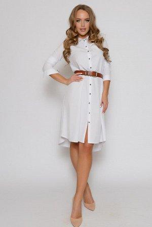 ПЛАТЬЕ Длина платья 0204 измеряется по спинке от основания шеи до линии низа изделия. Для размеров 42, 44, 46 длина платья-туники составляет 106 см, для размера 48 - 107 см, для размера 50 - 108 см, д